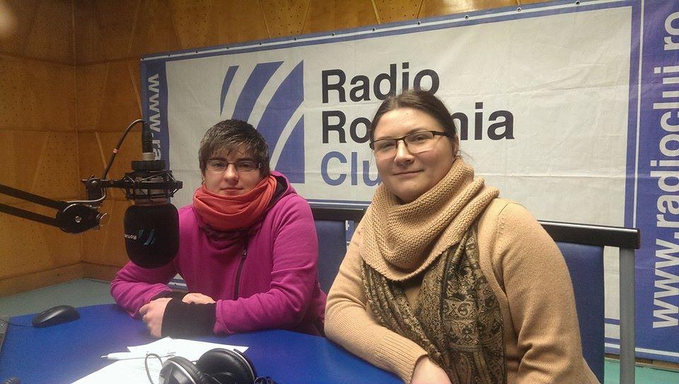 Mák Arany főszervező és Tamás Csilla a Kolozsvári Rádióban hangolódtak a könyvturira